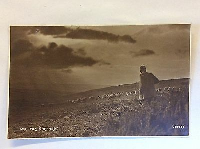 'The Shepherd' - Judges - Real photo. Posted 1923