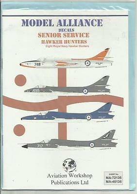 Model Alliance Decals 48136 Hawker Hunter Royal Navy decals in 1:48 Scale