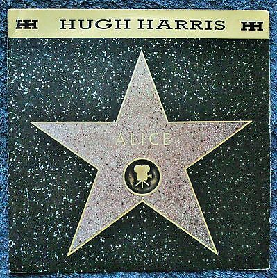 """Hugh Harris Alice Electronic, Funk Soul Hip Synth-pop House 1980s 7 """" INCH 45RPM"""