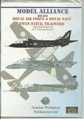 Model Alliance Decals 48130 Harrier Jaguar two seaters decals in 1:48 Scale