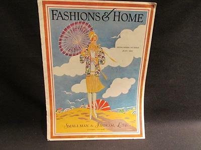 Smallman & Ingram London Ontario Fashions & Home Midsummer Number July 1927