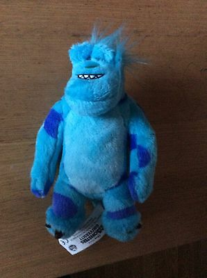 "Disney Monsters Inc. University SULLEY SULLY Soft  Toy 7"" Height"