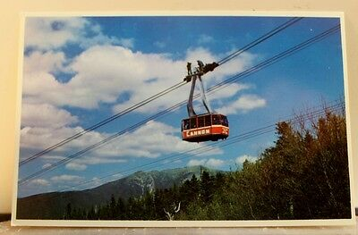 New Hampshire NH Franconia Notch Aerial Tramway Postcard Old Vintage Card View