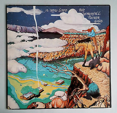 The Marshall Tucker Band - A New Life - Vinyl LP Gatefold  UK 1974