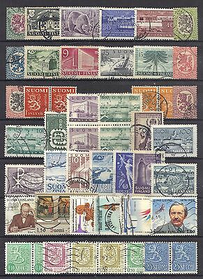 Finland page of stamps.