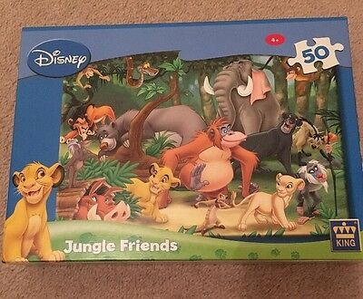 Disney Jungle Book Puzzle In Very Good Condition