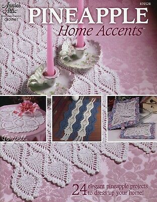 Pineapple Home Accents 24 Projects Annies Attic Crochet Patterns