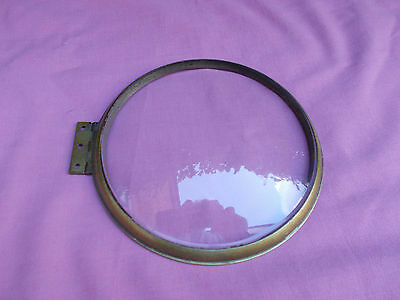 Smiths Empire Mantle Clock Bezel and Glass Spares or Repair Restoration