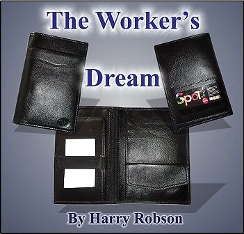 MAGIC - MENTALISM - The Worker's Dream Wallet by Harry Robson