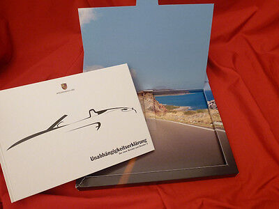 2012 PORSCHE Boxster S (limited 1 of 981) Customer Brochure Prospekt Box