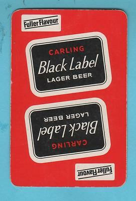Brewery Product Playing Card Single 1 no - Carling Black Label Fuller Flevour