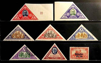 Lithuania: Classic Era Stamp Collection