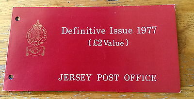 Jersey High Value Stamps Presentation Pack Mint Stamps