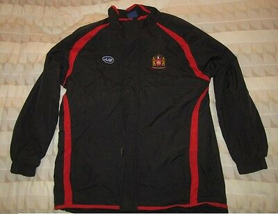 Rare Wigan Warriors Rugby Padded Jacket Shirt Jersey Adult XL *JJB*