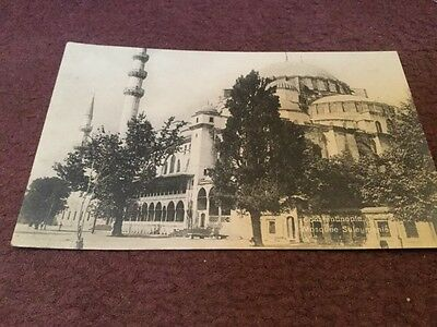 Old Postcard Constantinople - Mosquee Suleymanie
