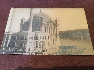 Old Postcard Constantinople - Mosquee D Oftakeuy