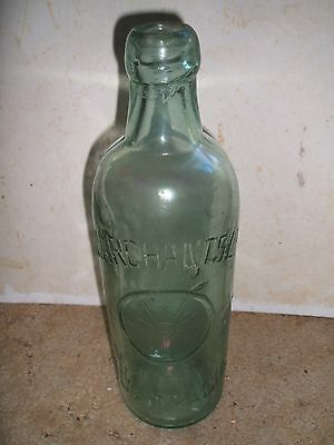 Old Australian made Marchants cordial bottle - early 1900's