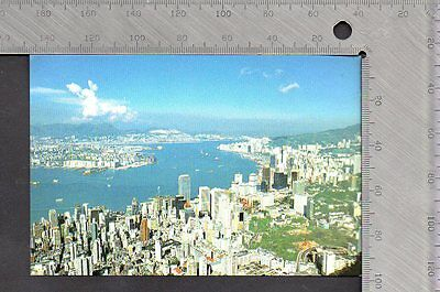 China - Hong Kong & Kowloon from the Peak - Lux Co No. 68