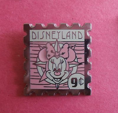 Minnie Mouse Disneyland 9 Cent Stamp Hidden Mickey  Disney Pin