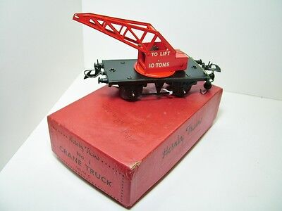 Hornby O Gauge 1 Crane Truck Boxed