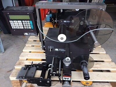 QTY 2  CTM Integration 360 Series Labelers, pressure sensitive label applicator