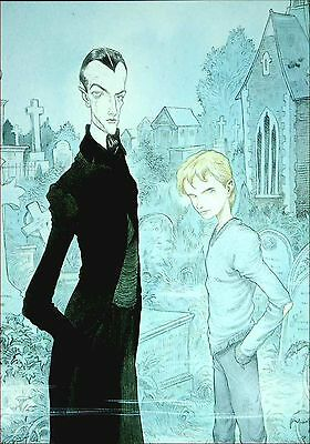 Neil Gaiman's The Graveyard Book - Promotional Postcard