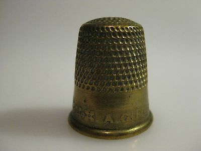 Antique Brass Thimble A GIFT
