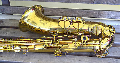 1976 King Marigaux Tenor Sax by SML  original lacquer Overhauled Brass resos