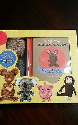 Teeny Tiny Crochet Set New in Box