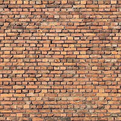#  8 SHEETS  brick wall 21x29cm 1/24 SCALE SELF ADHESIVE PAPER CODE 3doll2F!