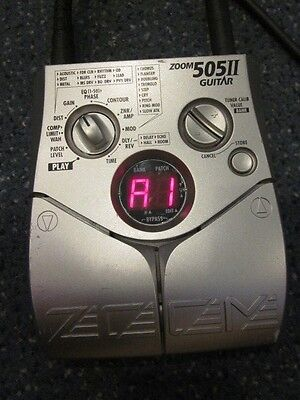 Zoom 505II Multi-Effects Guitar Effect Pedal *Pre Owned