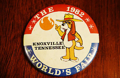 1982 Worlds Fair Knoxville Tennessee Button Vintage