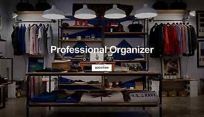 Are You A Professional Organizer? - Get Your Own Business Website Here $250