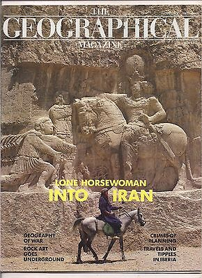 the geographical magazine-NOV 1987-LONE HORSEWOMAN INTO IRAN.