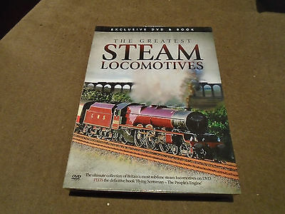 The Greatest Steam Locomotives And Flying Scotsman Dvd's In Presentation Box