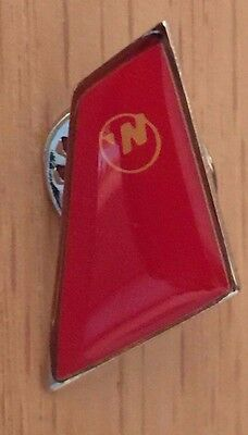 Northwest Airlines Tack pin red tail - new