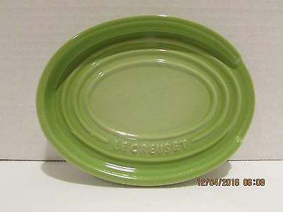 Le Creuset Oval Spoon Rest..kiwi Green...new
