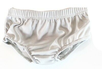 Nannette Baby NEW Gray Baby Girl's Size 12 Months Bloomers Underwear- DEAL