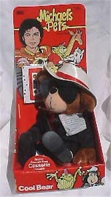 Michael's Pets/COOL BEAR-NRFB/Michael Jackson - 1987 Ideal Toys
