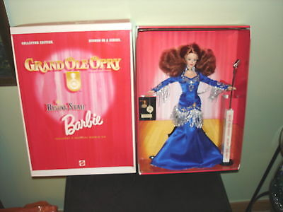 GRAND OLE OPRY RISING STAR COLLECTOR EDITION BARBIE WITH CD 2nd IN SERIES MIB