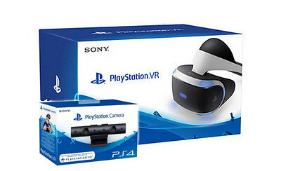 Sony PlayStation VR Headset Camera Bundle with Until Dawn: Rush of Blood