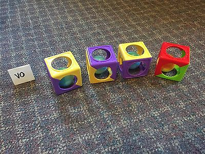 Baby Learning Toy Big Blocks Sound Shake Color Developmental Toddler Play GUC
