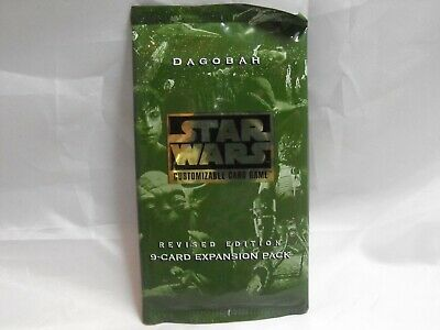 Star Wars Ccg A New Hope White Border Sealed Booster Pack Of 9 Cards