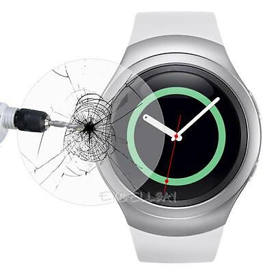 2x Tempered Glass Skin Screen Protector Film For Samsung Galaxy Gear S2 S3 Watch