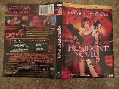 Signed Autographed DVD Cover Resident Evi - Milla Jovovich & Michelle Rodriguez