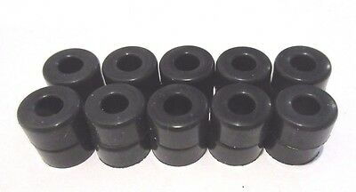 Slot Car Ho Scale ( 10 Pair Silicone Tires Fits Aurora T-Jet Tuff Ones ) New