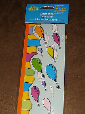 Dr. Seuss Oh, The Places You'll Go! Deco Bulletin Board Trim-36' Pkg-New In Pkg.