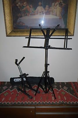 PROEL Fold Up Music Stand & Guitar Stand