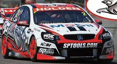 2014 Garth Tander HRT VF Commodore 1:18 Classic Carlectables Cars