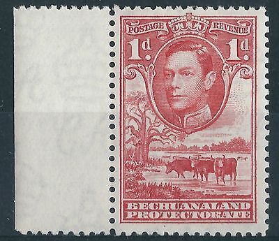L199) Bechuanaland Prot. 1938/52. MM. SG 119 1d Scarlet with margin